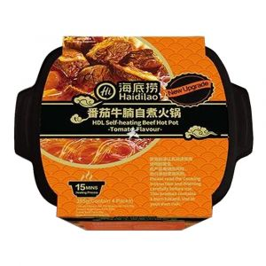 Haidilao HDL Self heating beef hot pot tomato flavour 395 gms