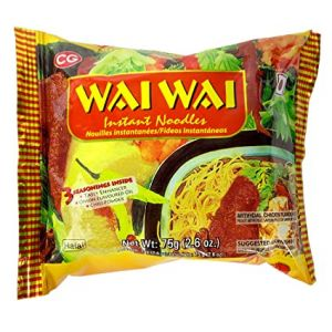 Wai wAI Instant noodles chicken flavoured 375 gms