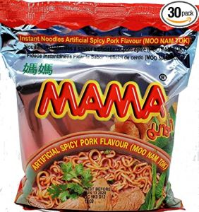 MAMA Oriental style instant noodles spicy pork flavour 55 gms