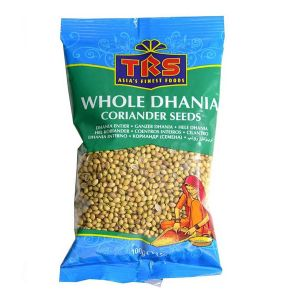 TRS Whole Dhania Coriander Seeds 100 gms