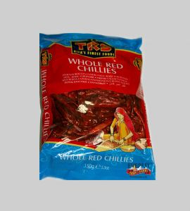 TRSWhole Red Chillies 150g